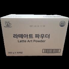라떼아트파우더 1박스(16봉 - 우유112리터용량)[1리터당 750원]